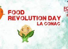 Food Revolution Day la Conac pe 20 mai, ora 10:30 Oras, Revolution, Food, Eten, Meals, Diet