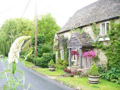 Irish lane cottage.