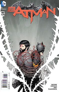 Superheavy, pt. 6 __Written by Scott Snyder. Art by Greg Capullo and Danny Miki. Cover by Greg Capullo , .At last, Batman comes face to face with Gotham City's deadly new villain, Mr. Bloom. With the
