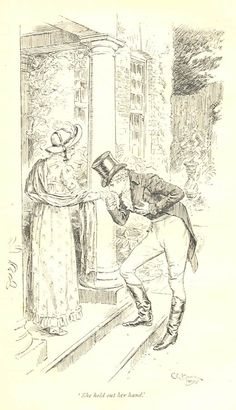 She held out her hand - Pride & Prejudice, 1895