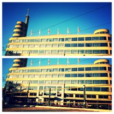 Art Deco // Flagey Building // Place Flagey // Brussels // Architecture