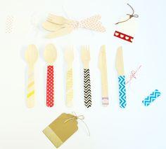 Por fiiiin! cubiertos de madera! tendencia total!!!!! | Mary Mary Sweet Designs