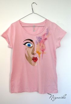 handpainted tshirt tricou pictat