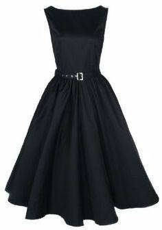 Lindy Bop Vintage 50's Audrey Hepburn Style Swing Party Rockabilly Evening Dress #spring