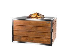 U zoekt een warmtebron voor in de tuin met een comfort en stijl als welkome toevoegingen? De Happy Cocooning Lounge & Dining vuurtafel voorziet u van een gemakkelijk aan te steken vuur, op een moderne teakhouten tafel. http://gardenmart.nl/vuurtafels-happy-cocooning/719-lounge-dining-table-rechthoek-stainless-steel-rvs-antraciet.html#/accessoires-_