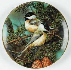 WS GeorgePortrait of Exquisite Birds: Backyard Treasure: Chickadee - Artist: Carl Brenders