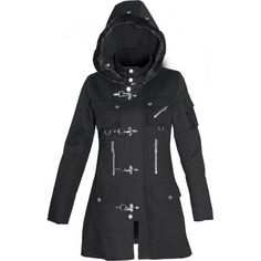 Gothic coats and jackets for women - The Black Angel fe0460d9a5