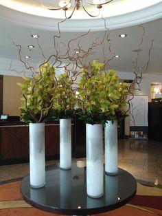 April lobby flowers