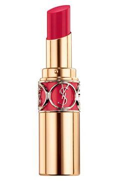 Yves Saint Laurent 'Belle de Jour Rouge Volupté Shine' Lipstick available at #Nordstrom