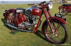 vintage motorcycles   Vintage 1947 Triumph 'Speed Twin' Motorcycle