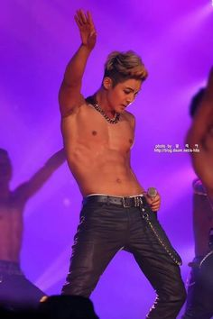 Kim Hyun Joong | World Tour in Seoul 06.28.2014 | Sexy,topless,talented and handsome