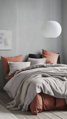 Update with fresh bed linen in an array of new colours and subtle patterns. #InspirationOfBedLinen