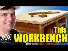 You can build this strong, durable workbench in a weekend using 2x4s and plywood. Free workbench plans and how-to video.