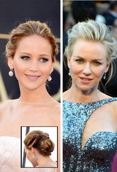 Naomi Watts's cute hairstyle