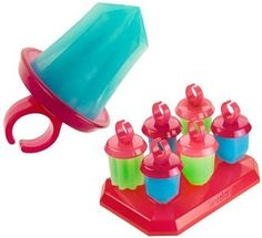 Tovolo Frozen Jewel Ice Pop Molds. We put yogurt in them and they were a huge hit.