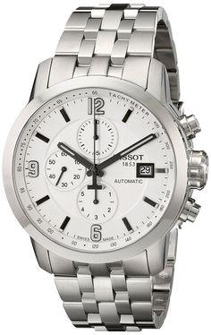 Amazon.com: Tissot Men's T0554271101700 PRC 200 Analog Display Swiss Automatic Silver Watch: Tissot: Watches