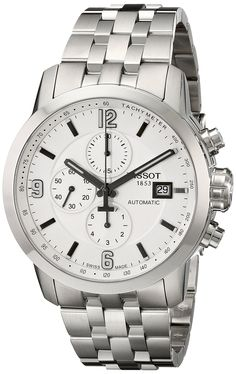 Amazon.com: Tissot Men's T0554271101700 PRC 200 Analog Display Swiss Automatic Silver Watch: Tissot: Watches
