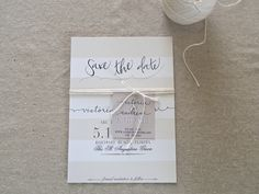 Nautical Save the Date — weekending blog