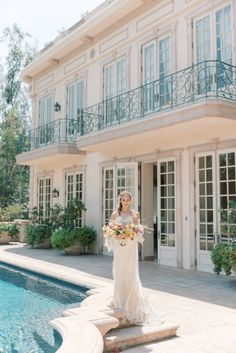 Romantic Garden Wedding   ElegantWedding.ca
