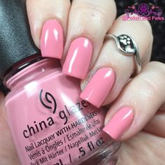 So it just occurred to me that yesterday I promised individual swatches of the @chinaglazeofficial House of Colour collection.. and well adulting happened. :) So to start off this is Pink or Swim a bubblegum pink creme 2 coats with glossy top coat. Great formula.  #nailpolish #nails #nailswatches #polishaddict #nailblogger #mani #nailsofinstagram #polishaholic #nailaccount #prettynails #nailsoftheday #instanails #nailart #nailpromote #notd #featuremynails #cutenails #nails2inspire #motd…