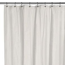 Buy Eco Soft Extra Long Shower Curtain Liner In White From At Bed Bath U0026  Beyond. This Soft Sensations™ Pure EVA Vinyl Shower Liner Is Free Of  Chlorine And ...