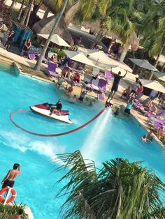 A Playa del Carmen playground for adults at Paradisus Resorts​ Playa del Carmen La Perla. An all-inclusive, Travelers' Choice Winner by TripAdvisor​ with 14 restaurants & 16 bars, OVER THE TOP Pool Parties with Flyboard Riders in the pool and swim-up suites to enjoy GOGO's EXCLUSIVE myTimeSelect perks in. Who's ready to go to #Mexico?!?!