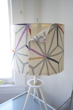 Sewing 101: How to Recover a Lampshade