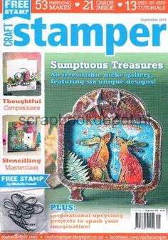 Craft Stamper September 2015