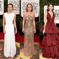 Golden Globes 2016 Red Carpet Fashion: See All the Best-Dressed Celebs: Glamour.com