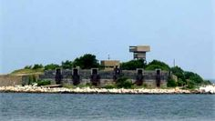 Fort Wool Island- Hampton, VA, which you can see when passing over the Hampton Roads Bridge Tunnel.