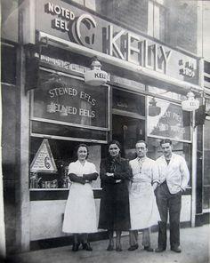 London G Kelly eels, Roman Road, Bethnal Green Vintage London, Old London, Blitz London, London History, Women's History, Roman Roads, East End London, Swinging London, Bethnal Green