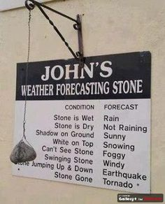 today's weather forecast...
