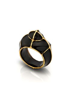 Gregory Larin Phantom Classic Black Ring
