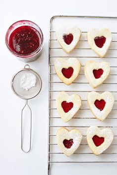 These little jam hearts would make the perfect Valentine's Day gift.