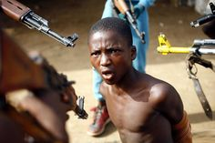 Up to half of the world's child soldiers are from Africa. Most are ...