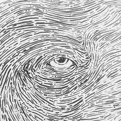 ObservoTudo. #observo #sketchbook #sketch #drawing #draw #eyes #blackandwhite #desenho #rascunho