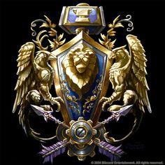 Warcraft - Crest of the Alliance by SamwiseDidier