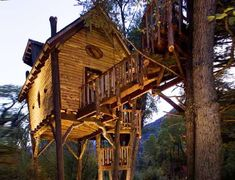 The Crystal Treehouse by David Rasmussen is an Idyllic Forest Escape #treehouses trendhunter.com
