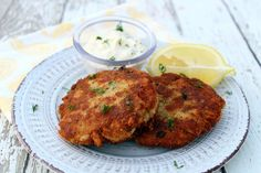 I crave Tuna Patties at times and this is how I make them. Sure hit the spot! I double my Lemon-Dill Sauce as I like lots of it! This is easy, so after work, it's great for a tasty meal. I made this with asparagus and use the sauce on it too! A nice change and perfect summer dish! And my cats love these :)