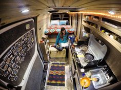 Native Eyewear Sprinter Van Conversion