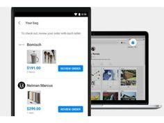 Pinterest lança recurso para incentivar compras dentro da plataforma. Recurso funciona como uma sacola de compras, permitindo usuários comprarem de diferentes fornecedores com apenas uma transação