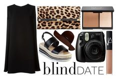"""""""What to Wear: Blind Date"""" by amaliakumala ❤ liked on Polyvore featuring Prada, McQ by Alexander McQueen, Diane Von Furstenberg, NARS Cosmetics, women's clothing, women, female, woman, misses and juniors"""