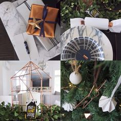 A few details from today's Festive House Tour and the house we decorated with a blue white and copper theme with @nesdesign. Love to know what you thought!  #festivehousetour #navyblue #copper #christmasdecorations #stfdnz #shutthefrontdoorstore