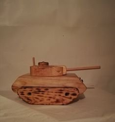 Handmade wooden tank, decor or toy Wood Work, Handmade Wooden, Woodworking, Toys, Decor, Activity Toys, Decoration, Toy, Joinery