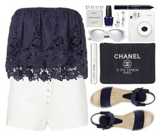 """""""#961 Louisa"""" by blueberrylexie ❤ liked on Polyvore featuring Calvin Klein Collection, Miguelina, Vince, Chanel, Bobbi Brown Cosmetics, Christian Dior, Fuji, Adia Kibur, Yves Saint Laurent and Byredo"""