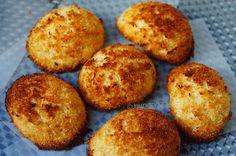 Μαλακά Μπισκότα Καρύδας Greek Desserts, Coconut Macaroons, Stuffed Biscuits, Cinnamon, Muffin, Sweets, Breakfast, Cakes, Food