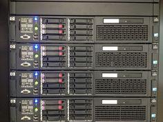 HP Sunucu Parkı / HP Server Farm