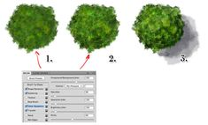 How to digital paint trees for maps: http://torstan.deviantart.com/art/How-to-draw-quick-trees-285247324?q=boost%3Apopular%20gallery%3Atorstan%2F4184311=33