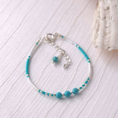 Anklet Jewelry, Beach Jewelry, Jewlery, Beaded Rings, Beaded Necklace, Beaded Bracelets, Turquoise Jewelry, Turquoise Bracelet, Beach Anklets