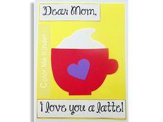 """Color Me Kinder: """"I Love You a Latte"""""""